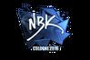 Sticker   NBK- (Foil)   Cologne 2016
