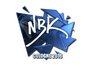 Skin Sticker | NBK- (Foil) | Cologne 2016