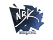 Sticker NBK- | Cologne 2016