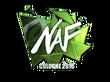 Sticker NAF (Foil)   Cologne 2016