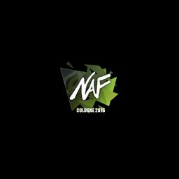 Sticker   NAF   Cologne 2016