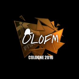 olofmeister (Foil) | Cologne 2016