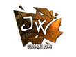 Sticker JW (Foil) | Cologne 2016