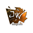 Sticker | JW (Foil) | Cologne 2016