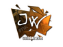 Skin Sticker | JW (Foil) | Cologne 2016