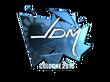 Sticker jdm64 (Foil) | Cologne 2016