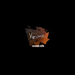 Sticker   KRIMZ   Cologne 2016