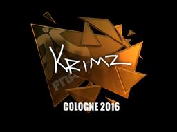 KRIMZ | Cologne 2016