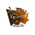 Sticker   KRIMZ <br>(Foil)   Cologne 2016