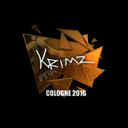 KRIMZ (Foil) | Cologne 2016
