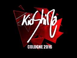 Sticker | kioShiMa (Foil) | Cologne 2016