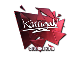 Sticker | karrigan (Foil) | Cologne 2016