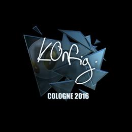 k0nfig (Foil) | Cologne 2016