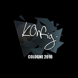 k0nfig | Cologne 2016