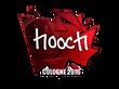 Sticker hooch (Foil) | Cologne 2016