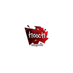 Sticker | hooch (Foil) | Cologne 2016