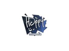Skin Sticker | Happy | Cologne 2016