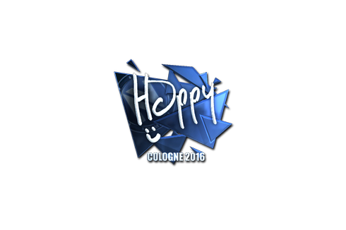 Sticker | Happy (Foil) | Cologne 2016 Prices