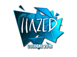 Sticker | hazed (Foil) | Cologne 2016