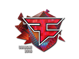 Sticker | FaZe Clan (Holo) | Cologne 2016