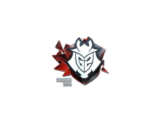 Skin Sticker | G2 Esports (Foil) | Cologne 2016