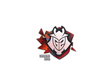 Skin Sticker | G2 Esports (Holo) | Cologne 2016