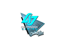 Skin Sticker | Counter Logic Gaming (Foil) | Cologne 2015