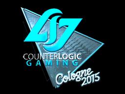 Наклейка | Counter Logic Gaming (металлическая) | Кёльн 2015