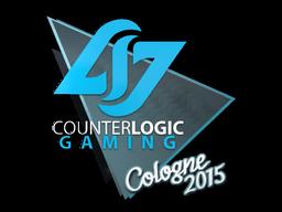 Наклейка | Counter Logic Gaming | Кёльн 2015