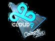 Sticker Cloud9 G2A (Foil) | Cologne 2015