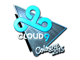 Наклейка | Cloud9 G2A (металлическая) | Кёльн 2015
