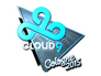 Skin Sticker | Cloud9 G2A (Foil) | Cologne 2015
