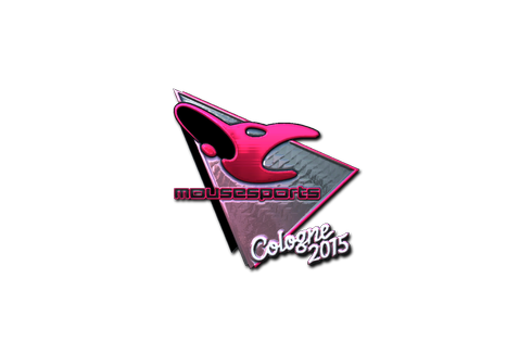 Sticker | mousesports (Foil) | Cologne 2015 Prices