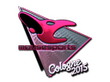 Sticker mousesports (Foil)   Cologne 2015