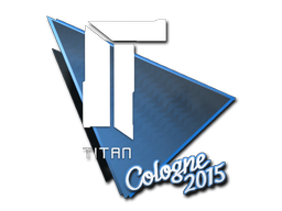 Sticker | Titan | Cologne 2015