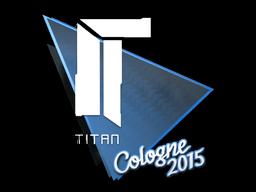 Наклейка | Titan | Кёльн 2015