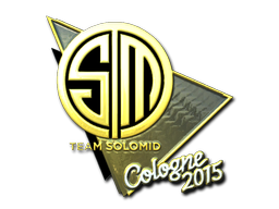 Наклейка | Team SoloMid (металлическая) | Кёльн 2015