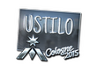 Sticker USTILO (Foil) | Cologne 2015
