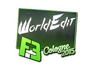 Skin Sticker | WorldEdit | Cologne 2015