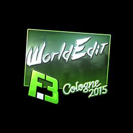 WorldEdit (Foil) | Cologne 2015