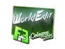 Skin Sticker | WorldEdit (Foil) | Cologne 2015