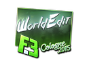 Sticker | WorldEdit (Foil) | Cologne 2015