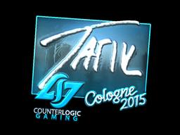 Наклейка | tarik (металлическая) | Cologne 2015
