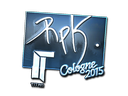 Sticker | RpK (Foil) | Cologne 2015