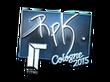 Sticker RpK (Foil) | Cologne 2015