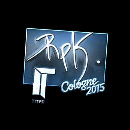 RpK (Foil) | Cologne 2015