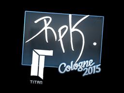 Sticker | RpK | Cologne 2015