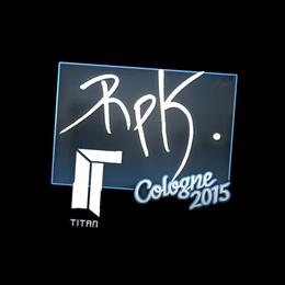 RpK | Cologne 2015