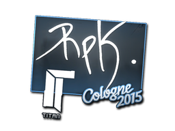 Наклейка | RpK | Кёльн 2015