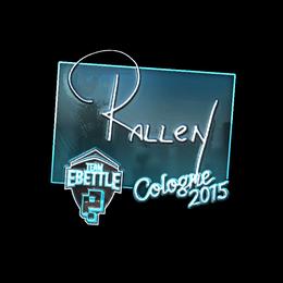 rallen (Foil) | Cologne 2015